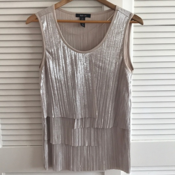 Style Co Sleeveless Top
